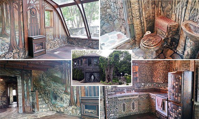 The great outdoors, indoors: Artist spends 35 years on hobbit house ...