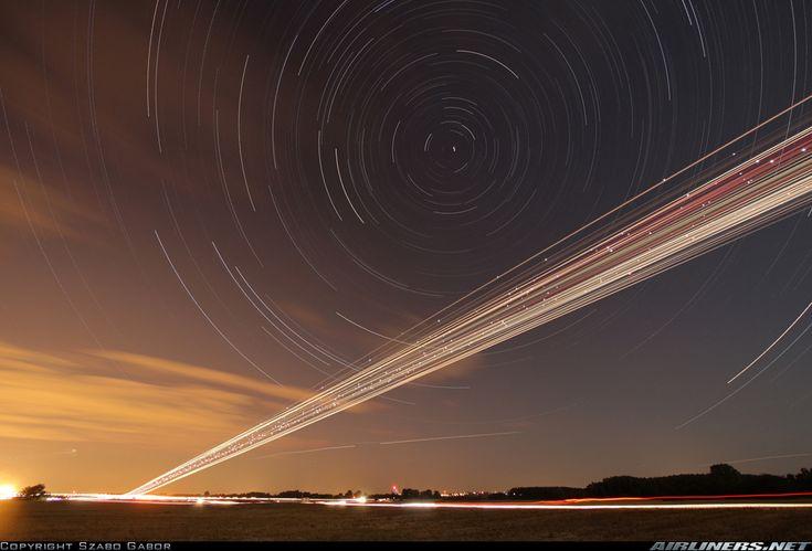 Time-lapse of night landings