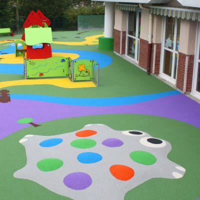 Düşme ve darbelere karşı korumalı çocuk oyun alanları - Gezolan AG - Gezoflex - Gezofill: High Performance Solutions