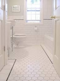 25 best ideas about white hexagonal tile on pinterest for 7x8 bathroom ideas