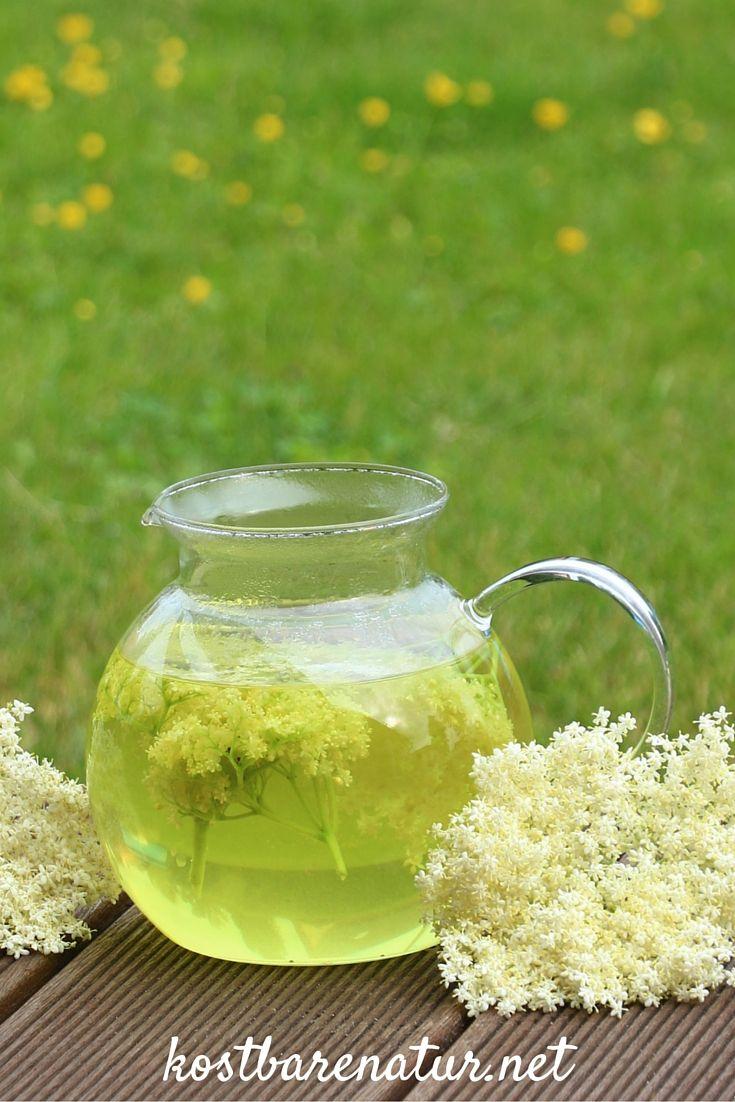 Holunderblüten-Tee <3