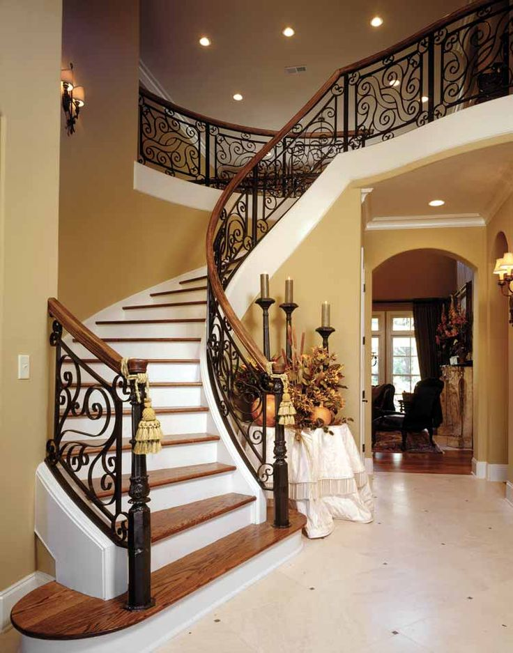 Grand Foyer Staircase : Best signature stair railings images on pinterest