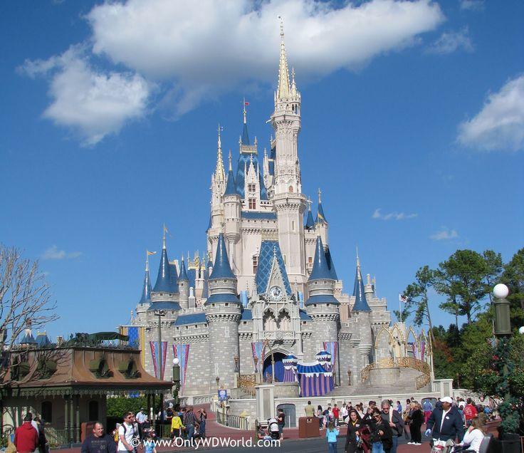 Disney World, the happiest place on earth!