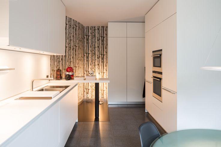 bulthaup - b3 keuken - realisatie door k vorm bulthaup #kitchen - harmonisches minimalistisches interieur design
