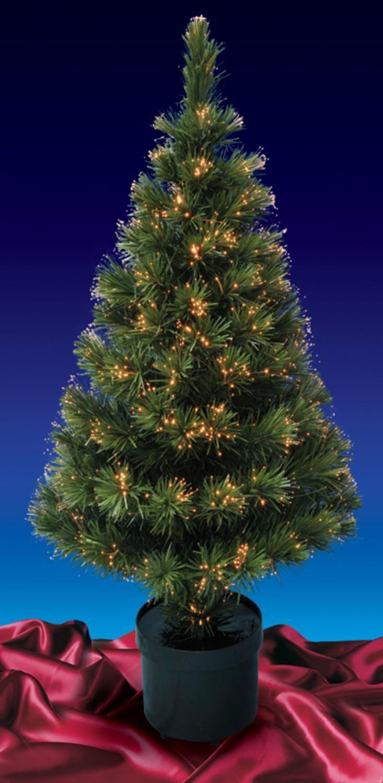 5' Pre-Lit Color Changing Fiber Optic Artificial Christmas Tree - Multi Lights