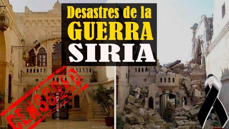 ►EL ATAQUE ISIS◄ ANTES Y DESPUES Siria hoy - DOCUMENTAL de Noticias de Hoy