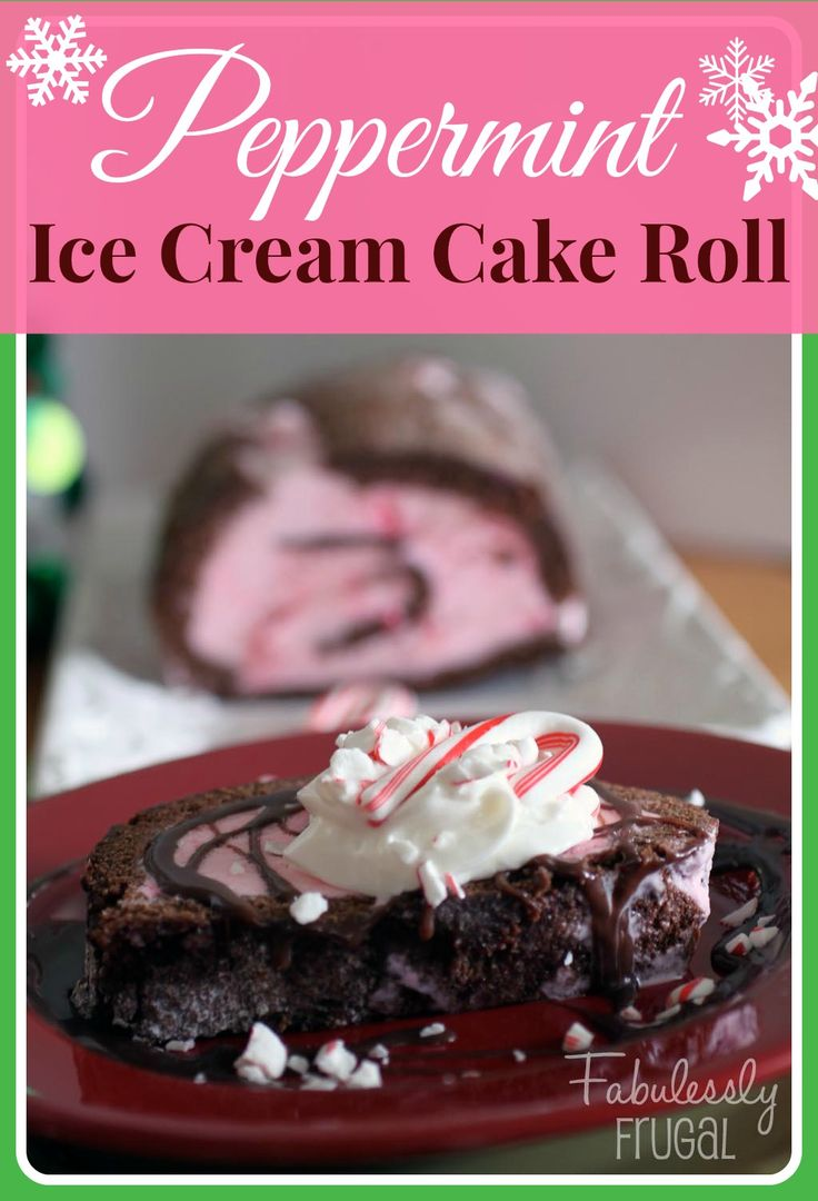Cake Ice Cream Roll : 20 Best images about Everything Christmas on Pinterest ...