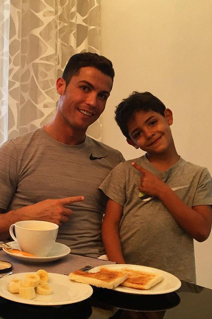 15 Times Cristiano Ronaldo and His Son, Cristiano Jr., Were Total Twins