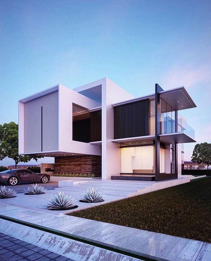 Modern Contemporaryhome Exterior Design: 2,482 Me Gusta, 6 Comentarios