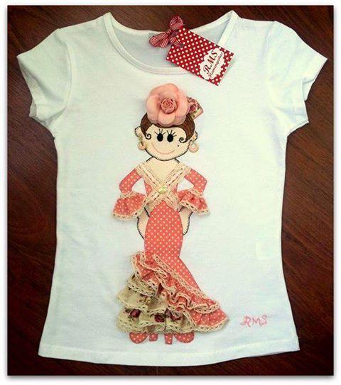 Camiseta de flamenca