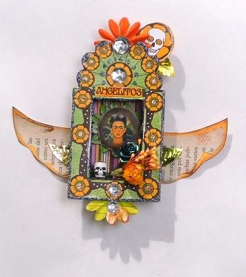 the art of peace: Fiesta DOD Matchbox Shrines