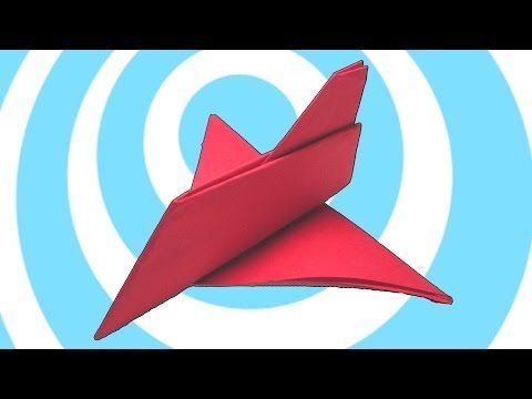 Easy Origami Airplane