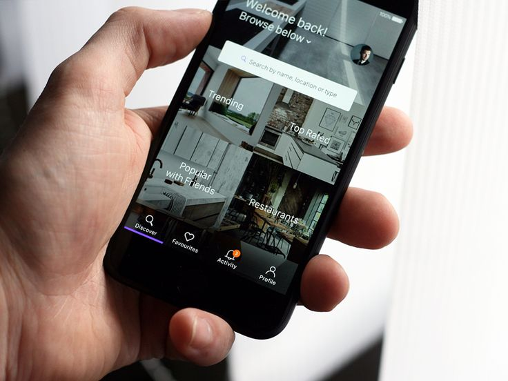 Interior Mobile App by Michael Dolejs