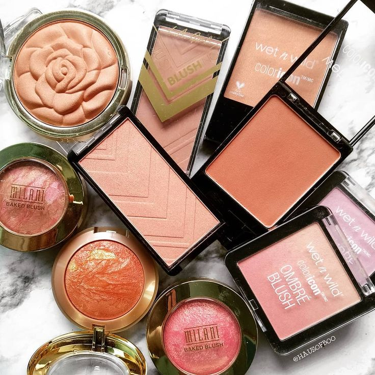 """""""Drugstore blushes for the win! These are affordable"""