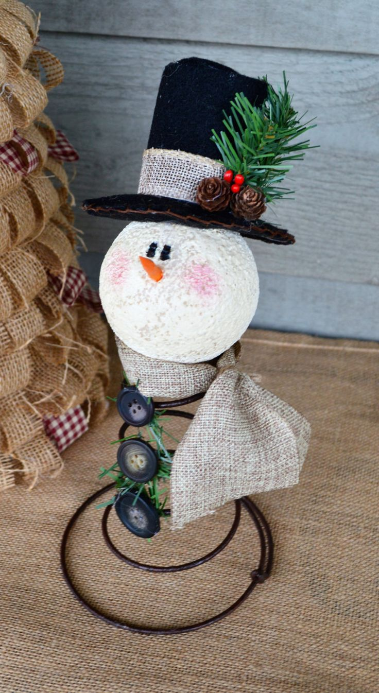 Rusty the Snowman Bed Spring Snowman