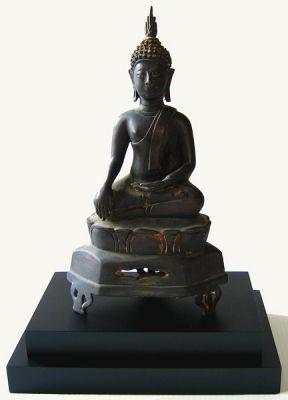 Bronze Thai Buddha Statue Early 20thC, ABA02