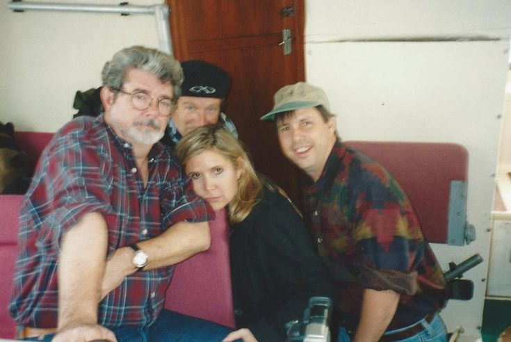 George Lucas Robin Williams Carrie Fisher Todd Fisher