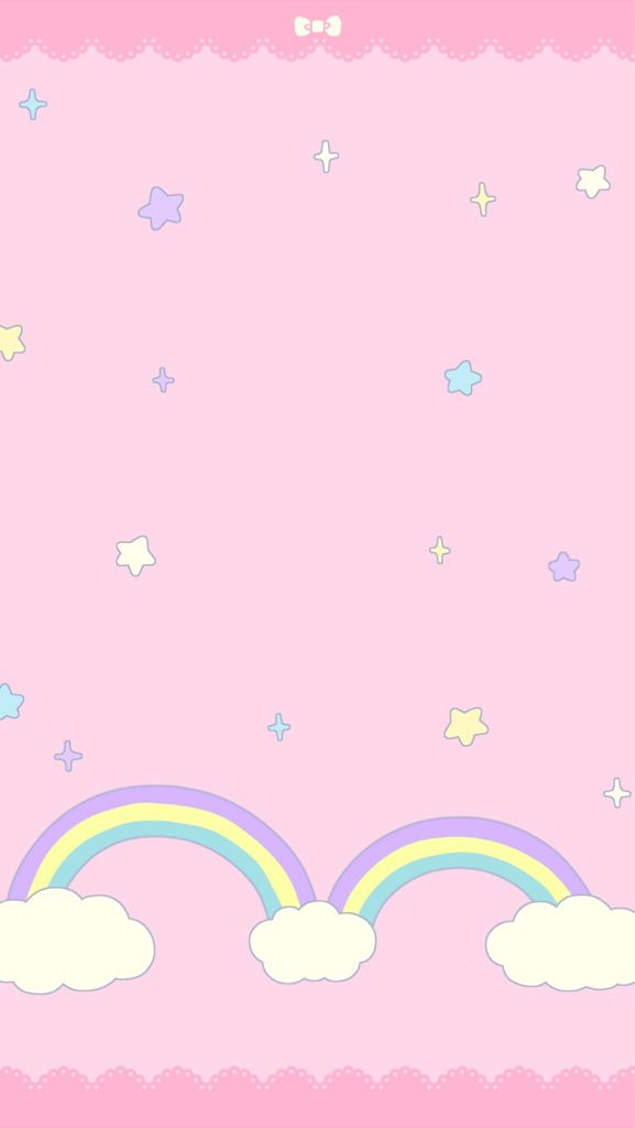 Image Discovered By Grass Faery Find Images And Videos About Pink Wallpaper And Kawaii On We Heart It T Pink Wallpaper Kawaii Wallpaper Rainbow Wallpaper