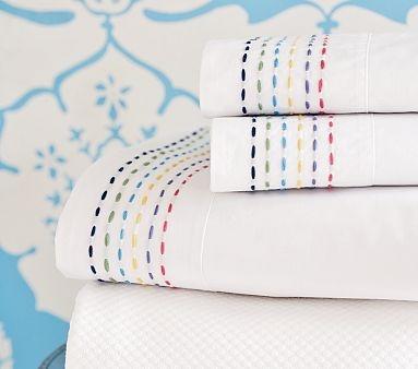 pick stitching on sheets #pick_stitch #sheet #bedding
