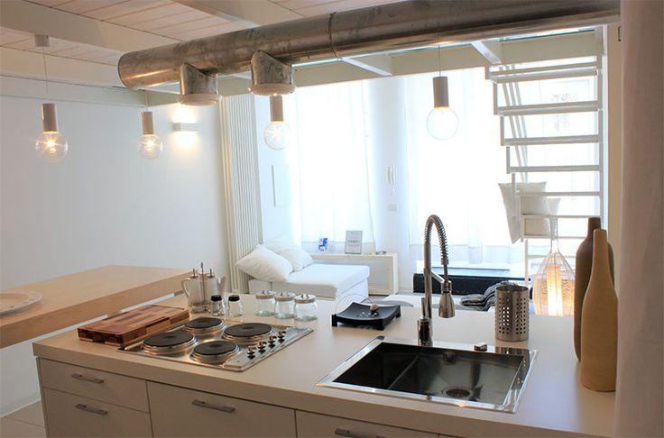 "Appartamento per vacanze ""Sofocle"", cucina/soggiorno - Holiday rental ""Sofocle"", kitchen/living-room"