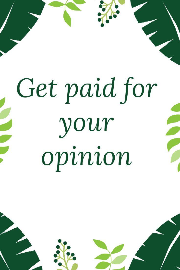 The best survey network. Make money starting now.
