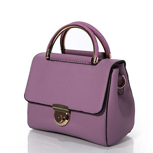 HNYEVE HB1200027C3 Fashionable PU Leather Korean Style Womens HandbagOval Messenger Bag >>> ** AMAZON BEST BUY **