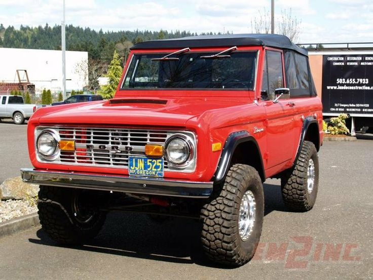 Early Ford Bronco Lifted | Ford Bronco for sale - Classic car ad from CollectionCar.com.