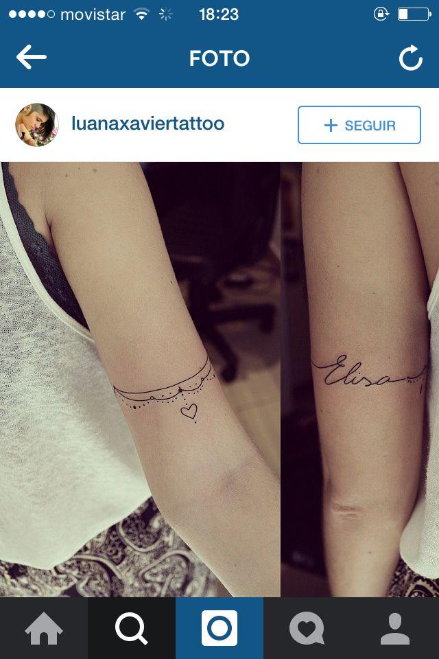 Brazalete Delicado Tatuaje Tatuajes Tatuaje Tobillera