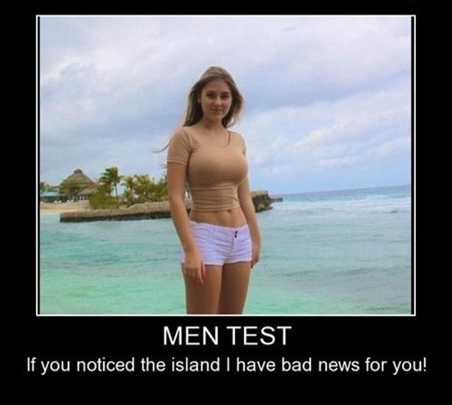 Men Test! HAHAAAA