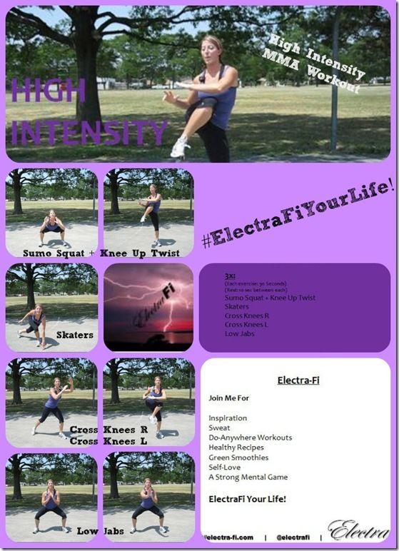 High Intensity MMA Workout - ElectraFi