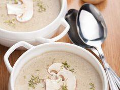 Makkelijk recept om lekkere witte champignonsoep te maken