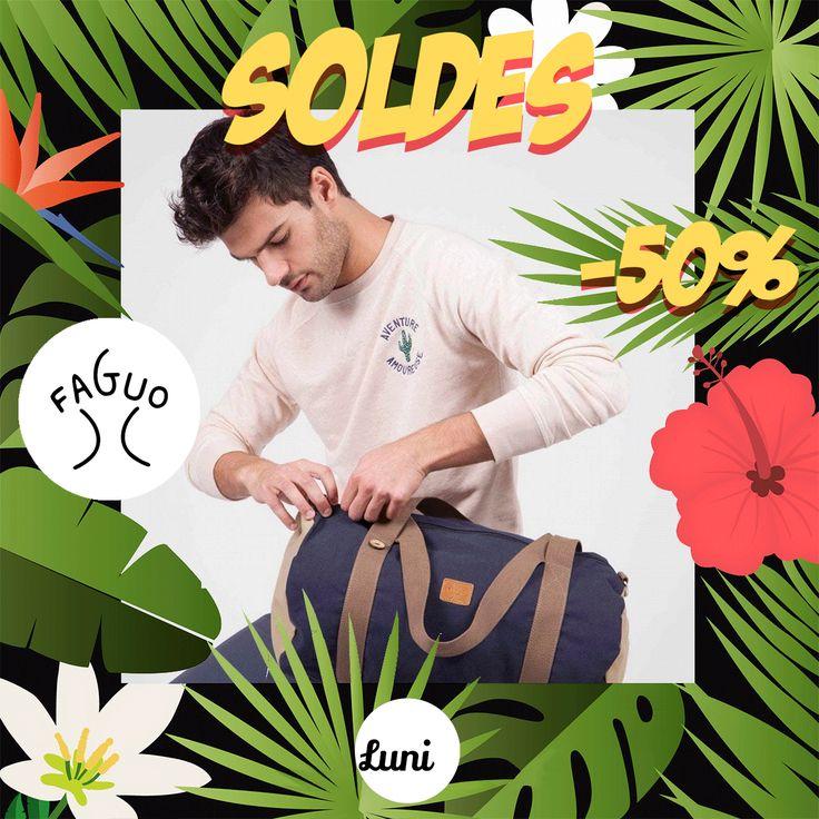 Tshirts, chino, chemises, polos... -50% pour le créateur Faguo sur Luni http://luni.fr/promotions.html?limit=96&manufacturer=1495 #luni #lunifr #soldes #soldes2017 #shopping #summer #lunifr #tendance #modehomme #createurFrancais #soldesete #creationFrancaise #pretaporter #masculin #paris #parisien #readytowear #sales #chino #polo #sweat #mensfashion #menswear #fashion #menstyle #streetstyle #plage #vacances avec FAGUO