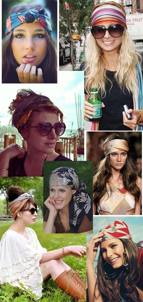 Formas de usar lenços na cabeça | Basic Look, por Cris Knuttz