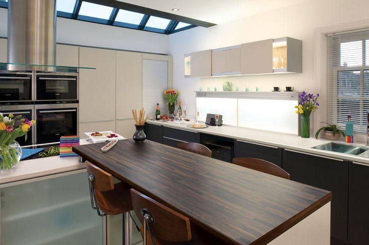 Finewood - Bali Wood - Axiom Formica Laminated Worktop #kitchen #furniture