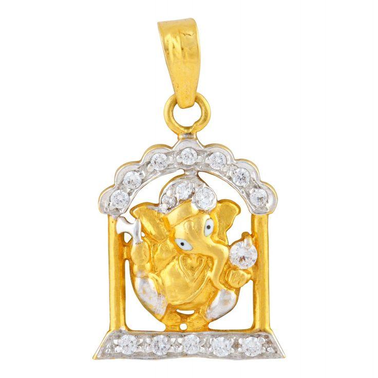 #GaneshPendents #Gold #IndianJewellery #MehrasonsJewellers