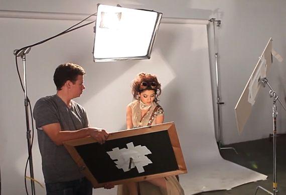 Portrait Lighting Setups Using One Light and Mirrors