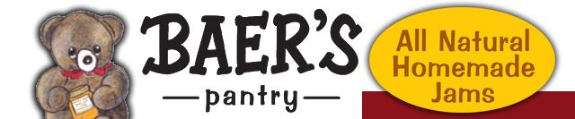 Baer's Pantry, makers of the best all natural homemade jam ever - wedding favor idea???
