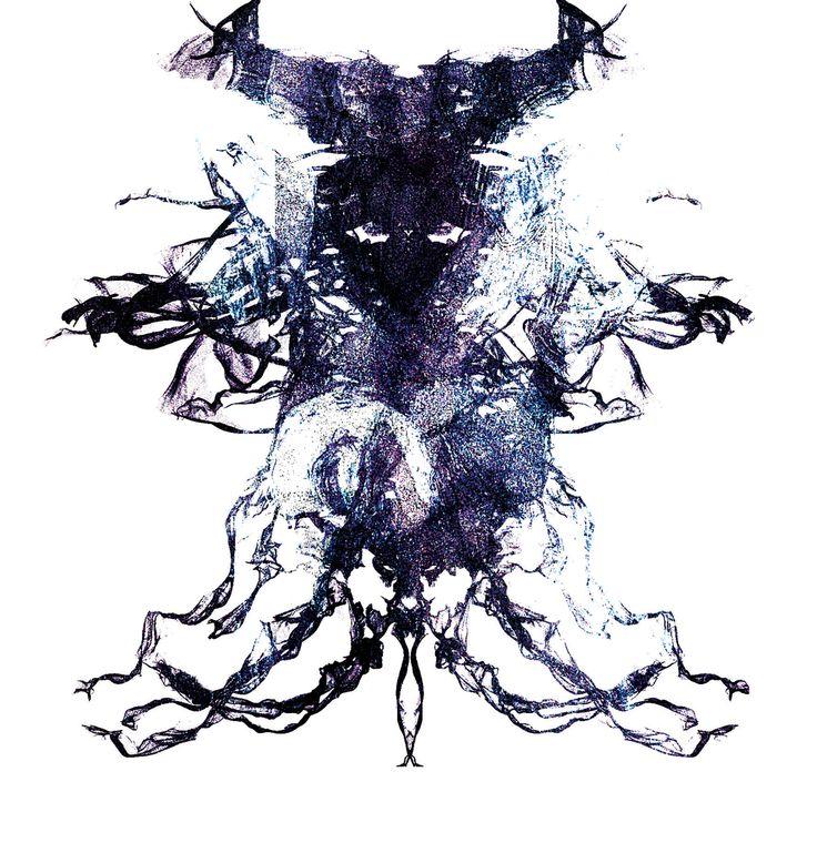 Digital Dark Knight by xovii.deviantart.com on @DeviantArt