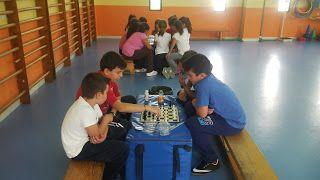 El laboratorio de Educación Física.: El ajedrez en E.F.