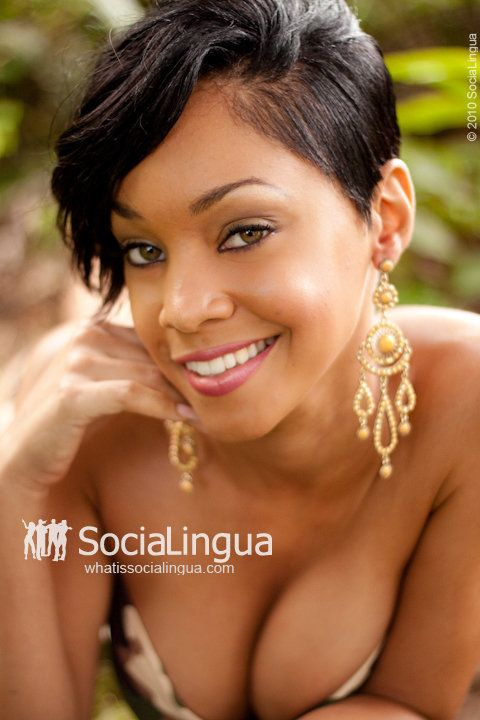 cute short hairstyles for black women - 640×800