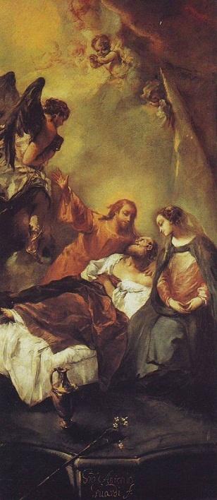 Giovanni Antonio Guardi: Muerte de José.