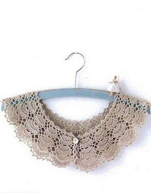 Crochet Collar (Ажурный воротничок крючком)