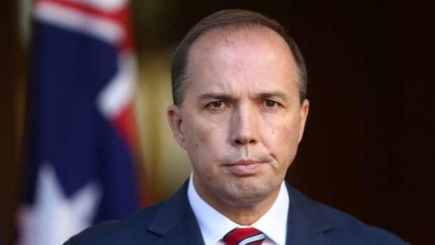 But Professor Triggs says Mr Dutton has no grounds to attack her and was relying on an inaccurate headline and a newspaper report of comments taken completely out of context.  In the report, in The Australian, it was asserted that Professor Triggs had linked Indonesia's refusal to negotiate on the death sentence for two Australians who were executed in April to the Abbott government's policy of turning back boats.