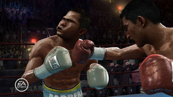 Fight Night Round 3 (Xbox 360).