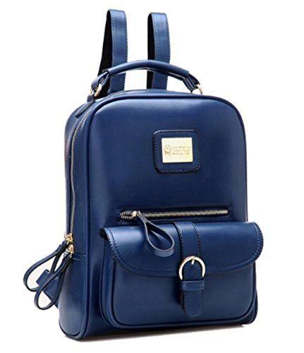 Vintage britische Art-Leder-Tasche Rucksack
