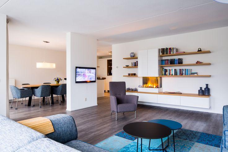 Hoogglans panelen van Duropal zijn altijd een welkome toevoeging voor een interieur. Goed te zien in dit appartement.