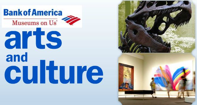 BANK OF AMERICA $$ Reminder: FREE Admission to Museums – LAST DAY (7/7)!