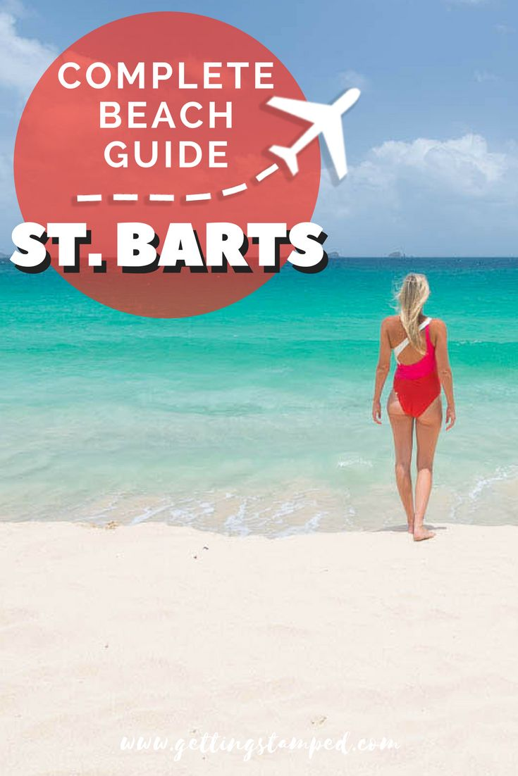 A guide to the best beaches in St. Barts. Visit St. Jean Beach, one of the most popular, and the hotel perched on top of the beach or head to the resort free Saline Beach. Make a stop at Colombier Beach during a Caribbean Island hopping cruise. Travel in the Caribbean. | Getting Stamped - Couple #Travel & #Photography #Blog #Caribbean
