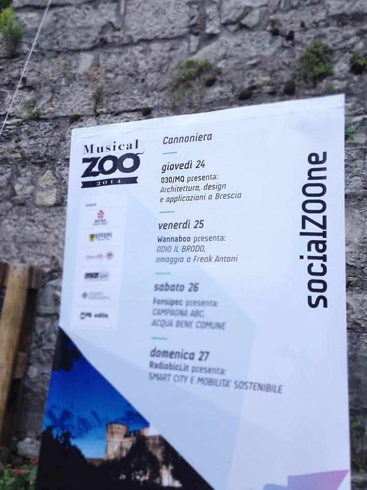 #GGA al #MusicalZoo2014 per sentire la conferenza #030/mq architettura, design e applicazioni a Brescia - Ottimo lavoro giovani!