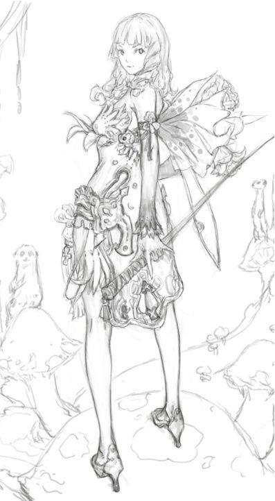 이전에 포스팅했던 브레이브킹님의 스케치를 모아보았다. 블로그,사이트를 전전하며 모은 것 인데.. 혹시 ...